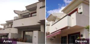 rehabilitacion fachada exterior