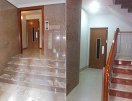 rampa para ascensor