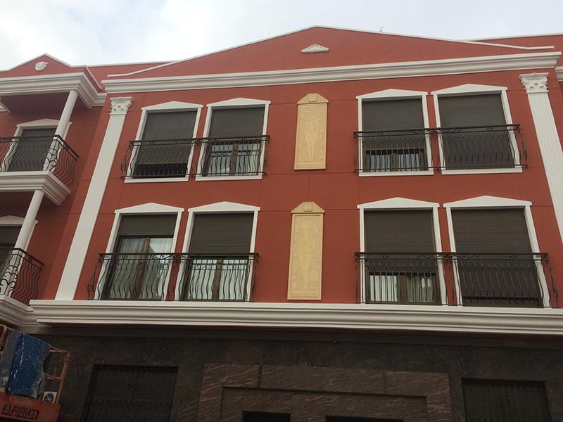 fachada rehabilitada