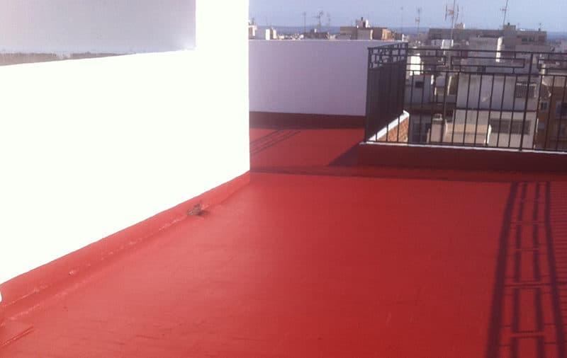 terraza después de promissan