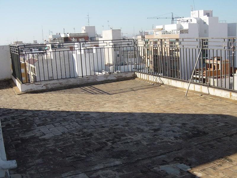 terraza vieja