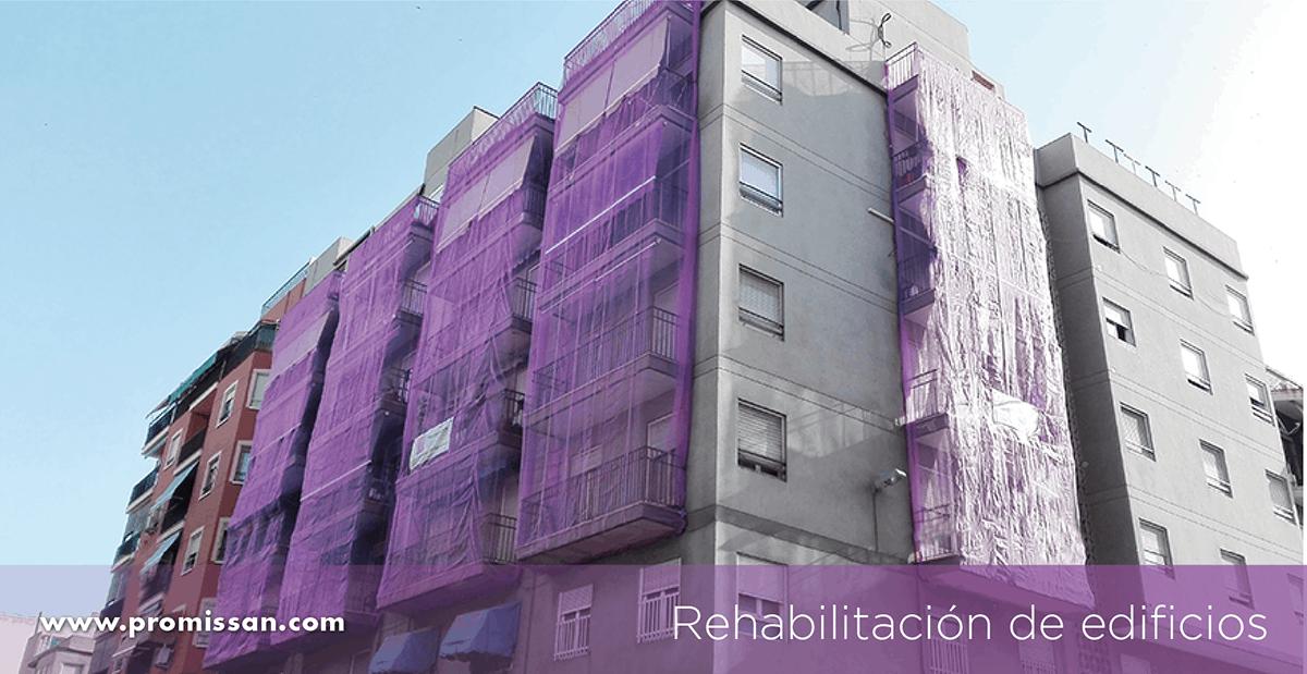 Seguridad rehabilitación de edificios