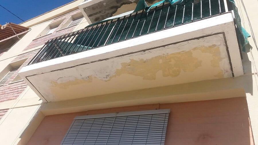 Rehabilitación balcón