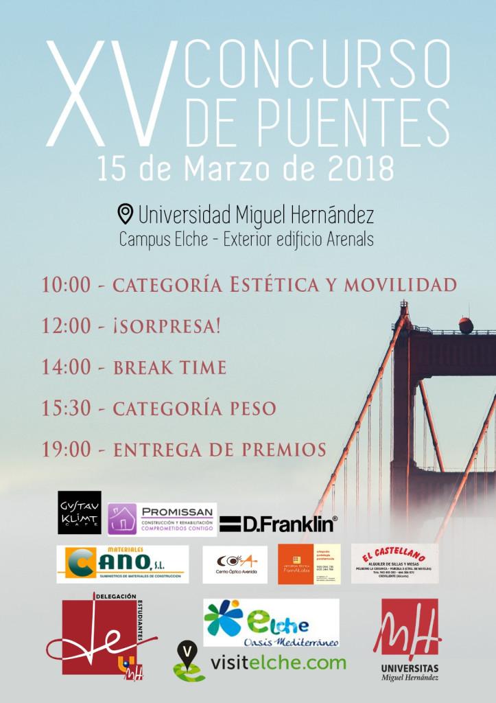 XV Concurso Puentes UMH