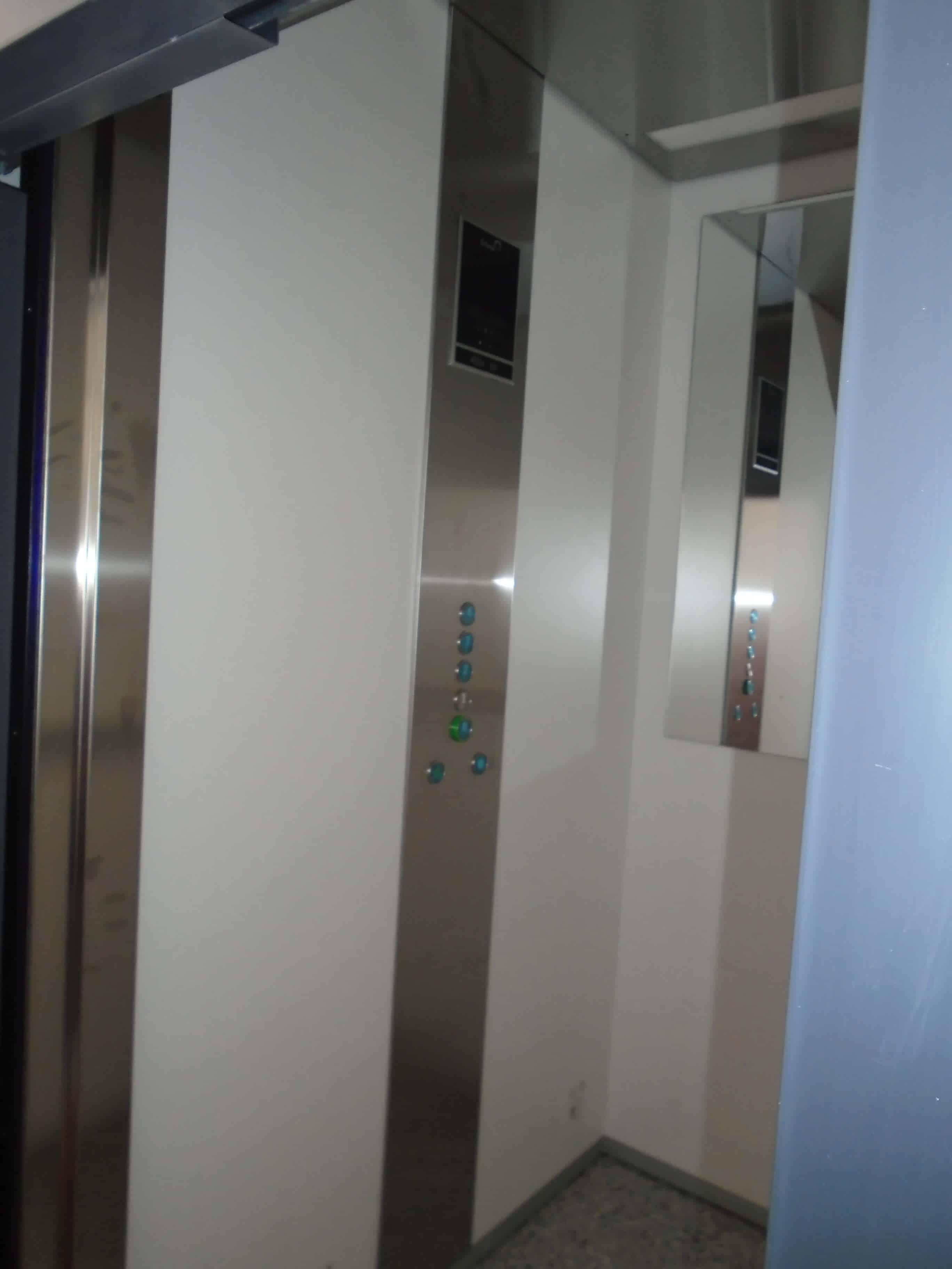 Características interior ascensor