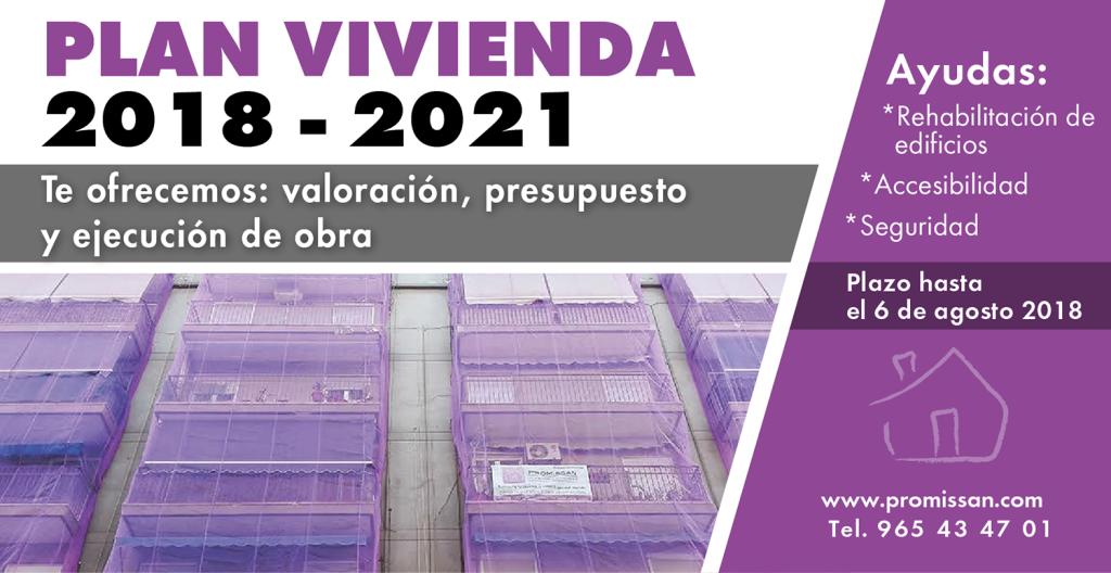 Plan vivienda 2018-2021