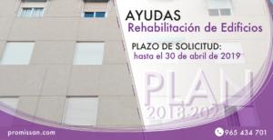 Ayudas rehabilitación edificios