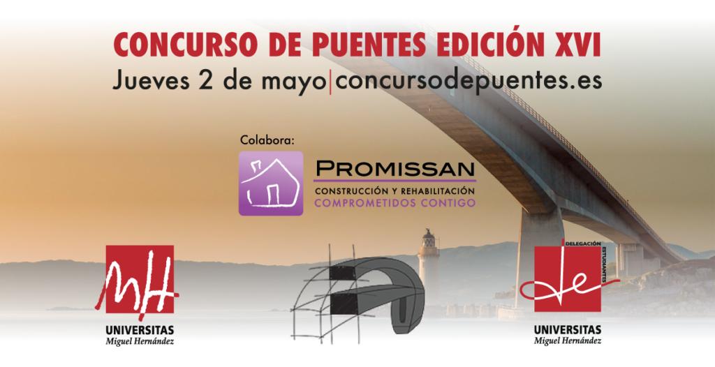 XVI Concurso de Puentes UMH