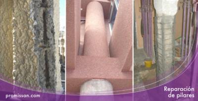 Reparación de estructura y pilares