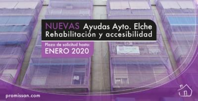 Ayudas en Elche para la rehabilitación de edificios