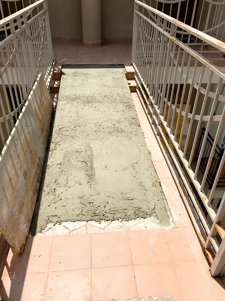Instalación ascensor exterior