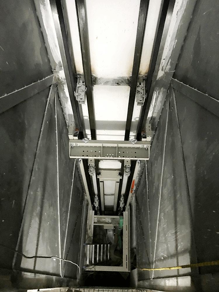 Instalación ascensor