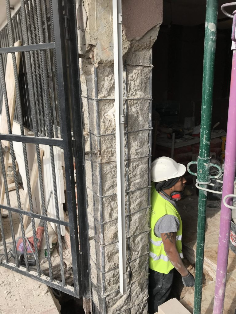 Reparación pilares