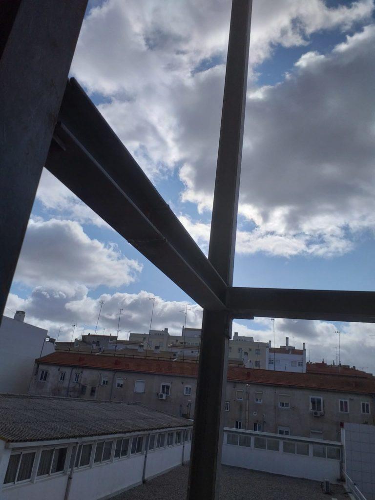 Instalación ascensor exterior c/ Pasaje, Albacete