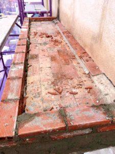 Rehabilitación fachada y terraza en Elche