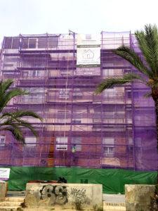 Rehabilitación de fachada en Elche