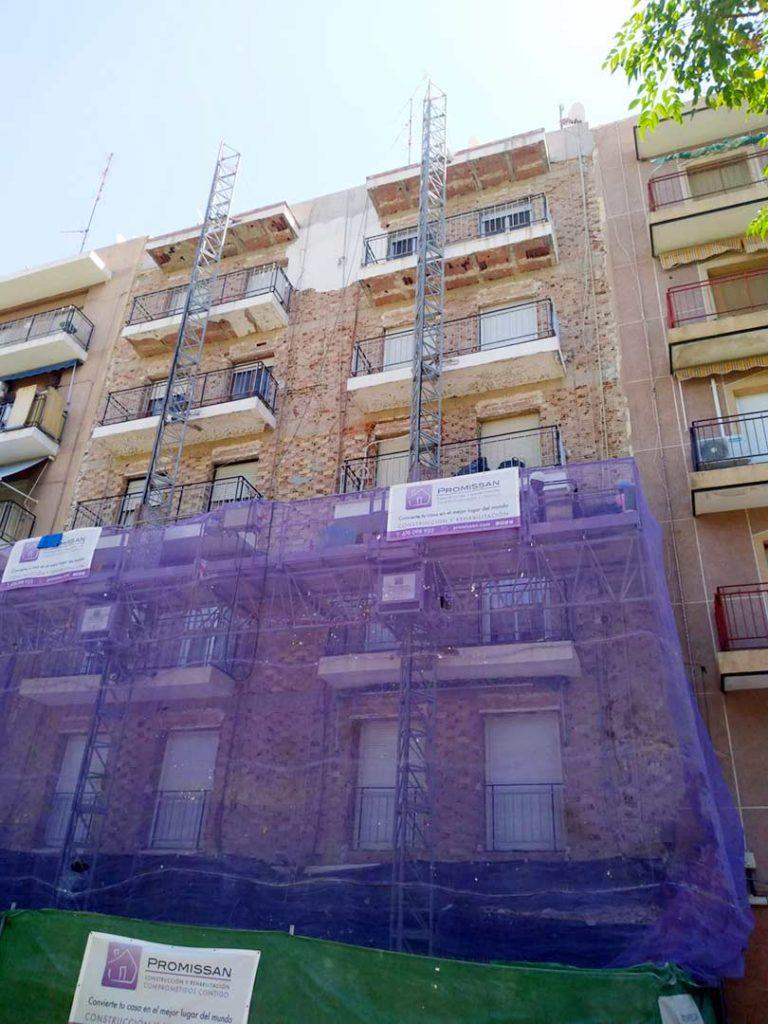 Rehabilitación de edificio en Elche