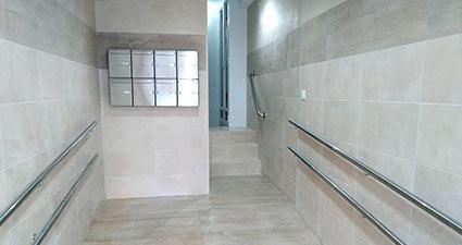 Instalación ascensor en Albacete Río Rosas 49