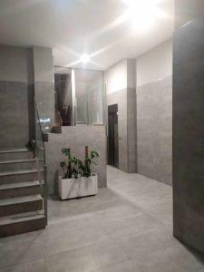 Bajada ascensor a cota cero en Albacete
