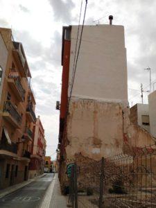 Reparación de fachada en Elche