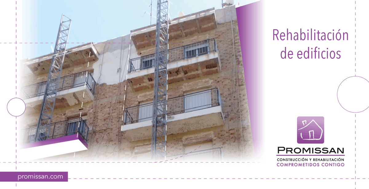 Reparación de edificios para mejorar la habitabilidad