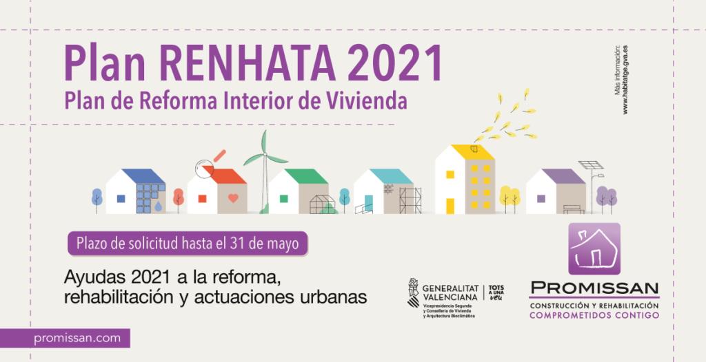 Ayudas para reformar interior de viviendas Plan Renhata 2021