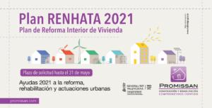 Reforma de interior de viviendas Plan Renhata 2021