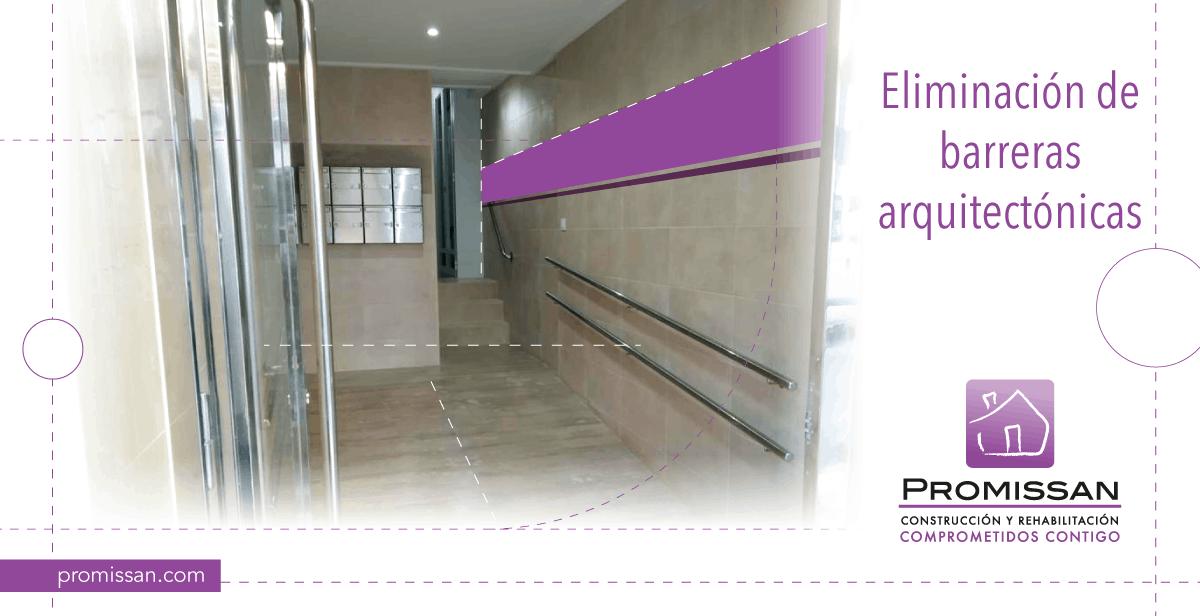 Como eliminar barreras arquitectónicas