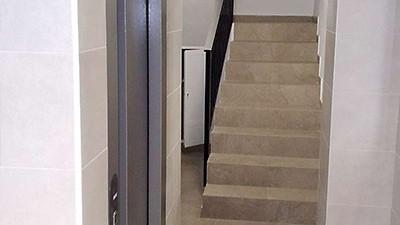 Instalación de ascensor y reforma de zaguán Elche - Alicante