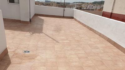 Rehabilitación de terraza y patio de luces Guardamar