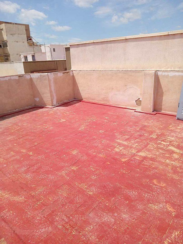 Impermeabilización de terraza en Elche