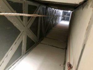 Instalación de ascensor en edificio de Santa Pola
