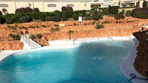 Rehabilitación piscina en Torrelamata